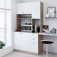 kitchen storage cabinet cart living skog large kitchen storage cabinet kitchen cabinet with extended storage space and microwave cart pantry cabinet with drawers kitchen and