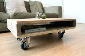 Rolling Coffee Table Wheeled Coffee Table Diy Rolling Coffee Table Fieldofscreams