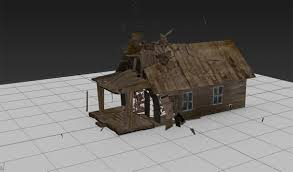 demolish a building in 3ds max using rayfire by ruan lotter 3ds