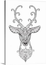 Stag Head Designs Deer Head Tattoo Designs Deer Free Download Tattoo Design Ideas