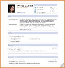 Blank Resume Template Pdf Cv Format In Pdf