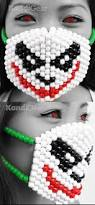 Kandi Mask The Joker From Batman Kandi Mask By Kandigear On Deviantart