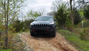 jeep trailhawk 2014 off road test review 2014 jeep cherokee trailhawk on some tough