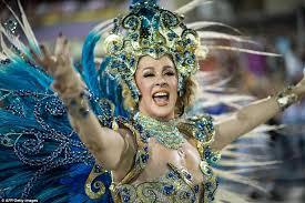 Brazilian Carnival Halloween Costumes Rio Carnival Revellers Toss Zika Virus Fears Wild
