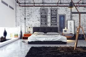 chambre industrielle déco chambre parentale de style industriel chic
