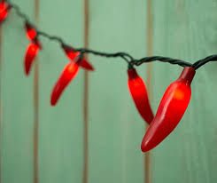 red chili pepper lights red green chili pepper lights seasonal decorations united