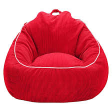 add a little kid friendly seating to your child s bedroom or playroom with the xl corduroy beanbag chair from pillowfort comfy and fun this oversized