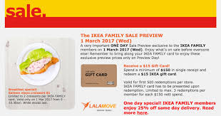 ikea one day family sale preview 1 salmon mayo croissant 1 mar