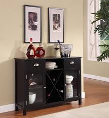 furniture black wooden sideboard table with drawers and claw legs