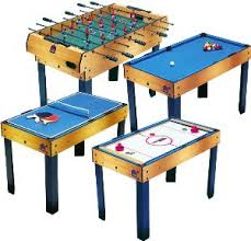 4 in one game table bce 4 in 1 games table 4 games in 1 table game motorised air