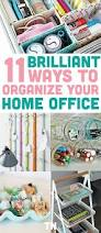 11 brilliant ways to organize your home office office