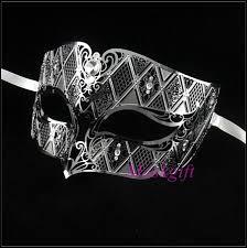 men masquerade masks aliexpress buy free shipping silver men wedding metal masks