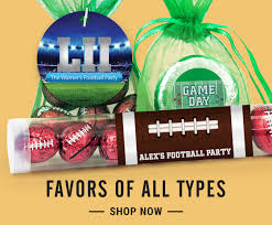 football favors football party candy favors wh candy