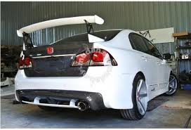 honda civic fd type r mugen diffuser car accessories parts for