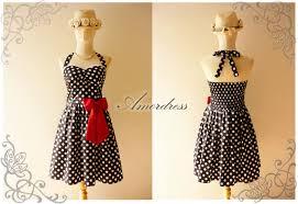 black white dot party dress size s garden dress cocktail