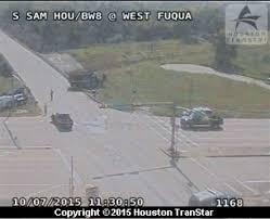 dump truck and car collide killing 1 houston chronicle