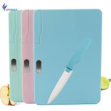 ceramic cutting boards upspirit multifunctional plastic cutting board with ceramic knife