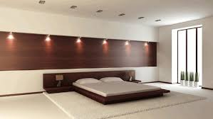 dark brown bedroom furniture polished plain white flooring golden