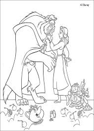 beauty beast coloring pages kids activities