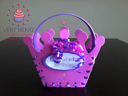 princess candy bags veryberry cupcakes personalized princess candy bags