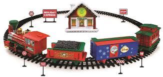 christmas tree train sets toys