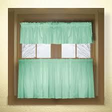 Cafe Kitchen Curtains Wonderful Green Kitchen Curtains And Kitchen Curtain Green