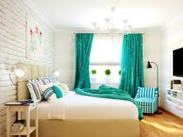 bedroom gorgeous turquoise white bedroom decor scheme ideas