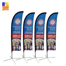 Feather Flags Cheap Selling Promotion Beach Flag Teardrop Feather Flag Custom