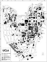 map of ucla map collection mappery