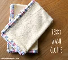 terry cloth fingertip towels