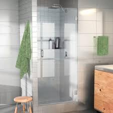 24 Frameless Shower Door Modern Contemporary Glass Shower Door Allmodern