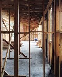 a reinvented ranch house framing progress in sierra madre myd