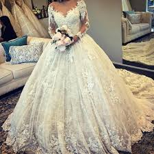 vintage lace wedding dresses vintage sleeves lace gown wedding dresses illusion
