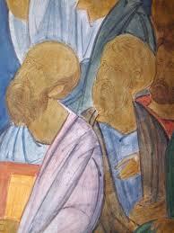 fresco painting an orthodox church u2014 saint gregory of sinai monastery