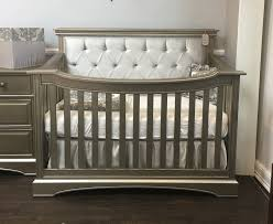 Convertible Cribs Royalton Custom Tufted Lifetime Convertible Crib Furniture