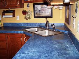cheap kitchen countertop ideas kitchen blue kitchen countertops contemporary with counters cobalt