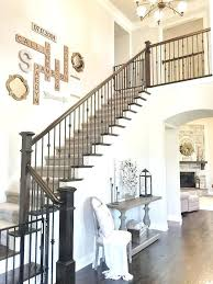 Staircase Decorating Ideas Stairwell Decor Idea Medium Size Of Stair Landing Decorating Ideas