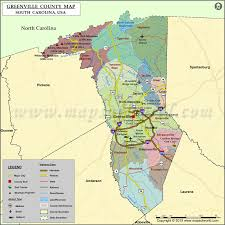 county map of sc greenville county map south carolina