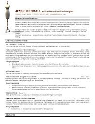 Graphic Designer Resume Resume Freelance Graphic Designer Sample