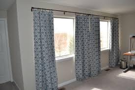 living room living room interior blue flower curtain for white