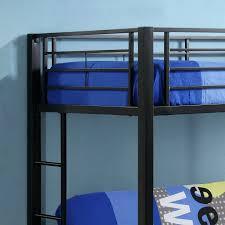 Bunk Bed With Futon On Bottom Bernards 3910 3952 5043 Banner Twin Over Full Futon Metal Bunk Bed