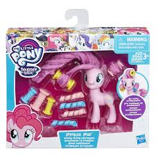applejack hairstyles amazon com my little pony twisty twirly hairstyles pinkie pie toys
