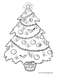 Christmas Ornaments Coloring Pages Many Interesting Cliparts Tree Coloring Pages Ornaments
