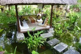 water feature and gazebo inspirations for my balinese garden