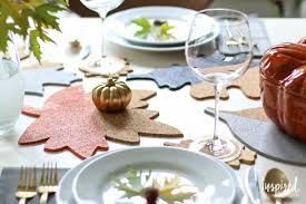 Table Decor Fall Colorblock Cork Table Decor Inspired By Charm