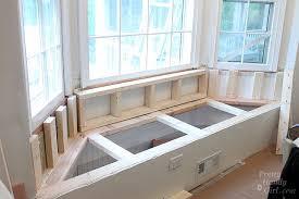 innovative under window bench seat storage building a window seat