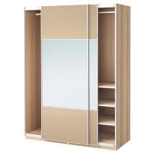 Schlafzimmer Schrank Nussbaum Pax Kleiderschrank Kombinationen Mit Türen Ikea