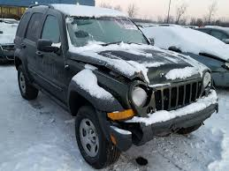 2006 green jeep liberty 1j4gl48k06w289657 2006 green jeep liberty sp on sale in mi