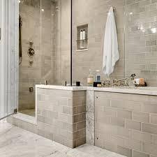 Gray And Tan Bathroom - tan bathroom tile bathroom remodeling biloxi boarder tile ceramic
