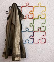 garderobe designer designer kleiderhaken puzzle 20cm garderobe wandhaken haken aus